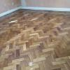 Fantastic wood floor after polishing in London