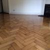 Fantastic wood floor after repair in London