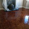 Beautiful surface after floor varnishing in London